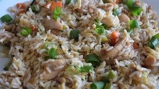 Chicken Fried Rice (Restaurant Style) - Quick Non veg recipe (in Tamil with English Subtitles)
