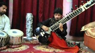 dhruva nath mishra playing poorvi dhun of benaras gharana