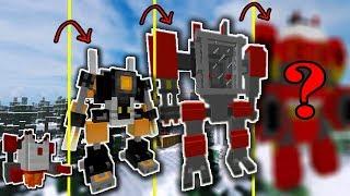 NẾU SLENDERMAN SỞ HỮU ROBOT HỦY DIỆT MẠNH NHẤT TRONG MCPE | Cuộc Sống Minecraft PE