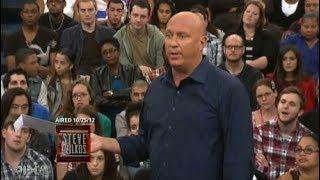 Unexpected Results Blindside Steve Part 2 (The Steve Wilkos Show)