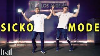 SICKO MODE - Travis Scott ft Drake Dance | Matt Steffanina & Fikshun