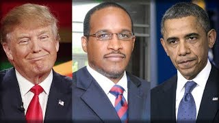 HISTORICALLY BLACK COLLEGE LEADER COMPARED OBAMA AND TRUMP... SORRY, BARACK