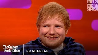 Does Ed Sheeran's Girlfriend Let Him Do This on Dates?   - The Graham Norton Show