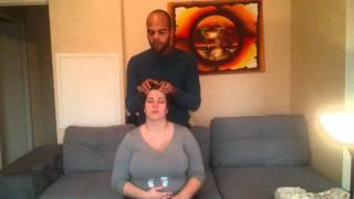 ASMR Visuel Massage +Hair play ZZZzzzZz
