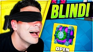 CLASH ROYALE BLIND CRL DECK CHALLENGE with NICKATNYTE!