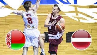 Belarus v Latvia - Full Game - FIBA U20 European Championship Division B 2018