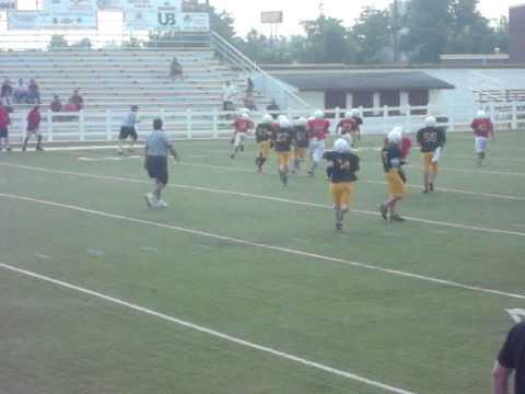 Damon Dobbs 12-13 year old running back - # 17