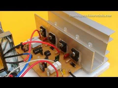 Inversor DC AC y cargador de batería