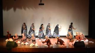 Puppet dance by S.P.A poornima university