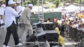 Ginuwine live at Stone Soul Picnic I can only be me