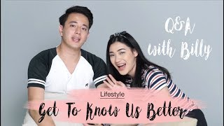 GET TO KNOW US BETTER   Q&A with Billy Davidson