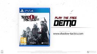 Shadow Tactics: Blades of the Shogun - Trailer (PlayStation 4, Xbox ONE)