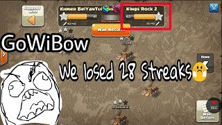 What The Fun 😂 GiBoWi Best Skill Ever Destroy War Base Defense 3 star th11 max By King Rock From US