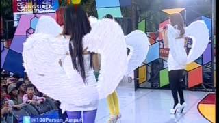 V ANGEL Live At 100% Ampuh (19-10-2012) Courtesy GLOBAL TV