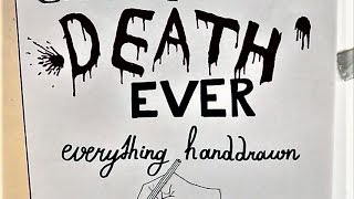 EVERY major GAME OF THRONES death EVER drawn with hand! (SPOILERS)