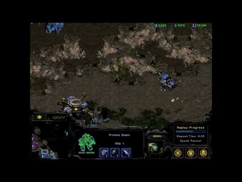 [HD]Starcraft Strategies: TvP on Python PT 2/3