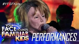Your Face Sounds Familiar Kids: Alonzo Muhlach as Jon Bon Jovi - It