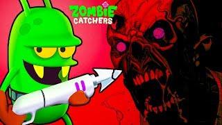Zombie Catchers #7 поймал ЗОМБИ БОССа Игровой мультик про зомби апокалипсис Охотники на Зомби