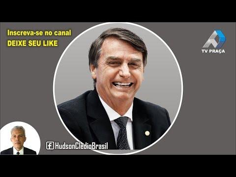 TV Praça AO VIVO - Bolsonaro comenta sobre a condenação de Lula