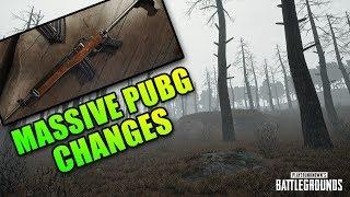 I'm Back - Massive PUBG Changes This Week!