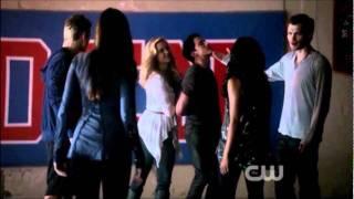 Klaus kills Tyler Gym scene The Vampire Diaries 3x05