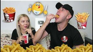 KFC CHALLENGE 🍟 ( Cine termina primul ? )