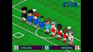 | Chelsea 2 - 1 Arsenal | FIFA v8 | Jornada 1