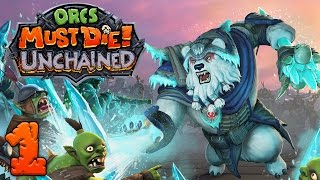 Orcs Must Die Unchained - #1 - Ash the Ice Bear!! (3 Player Gameplay)