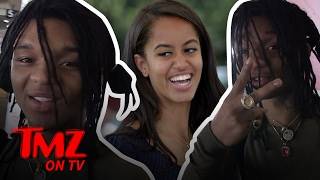 Swae Lee From Rae Sremmurd – I'm Over Malia Obama | TMZ TV