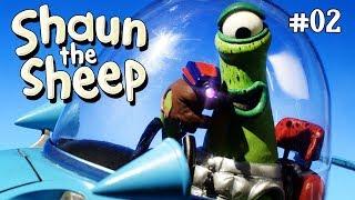 Menangkap alien pendek - Shaun the Sheep [Caught Short Alien]