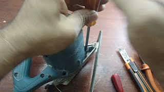 Aprenda a fazer manutenção em makita, (serra mármore)