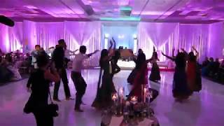 Reception Dance at Seema and Anish's Wedding