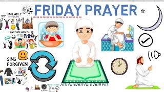 HOW TO GET READY FOR JUMMAH (Friday Prayer) - Animated