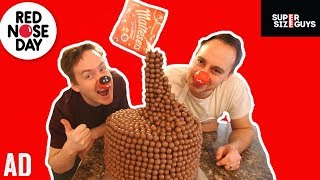 GIANT MALTESERS CHOCOLATE CAKE #ad