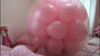 I'll be digested into a balloon - balloon fetish 風船フェチ