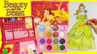 Beauty and the Beast Belle Art Folio Coloring Pages and Surprises