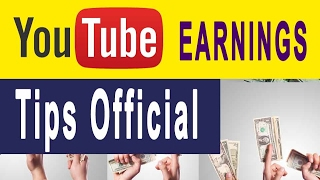 Tips Official  youtube earnings FEB 2017(my personal estimation)