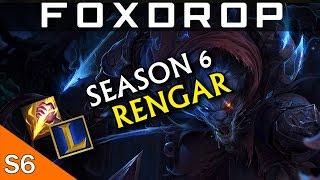 [Season 6] Full Damage Assassin Rengar Jungle - League of Legends