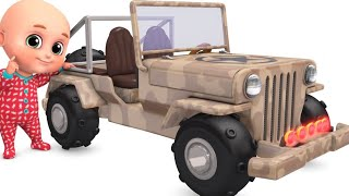 Police Jeep Toys|  Car toys  Videos Surprise eggs unboxing | Kindergarten videos for kids