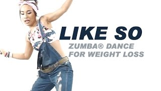Like So | Angela Hunte & Machel Montano ft. Gregor Salto & DJ Buddha | Zumba® Dance For Weight loss