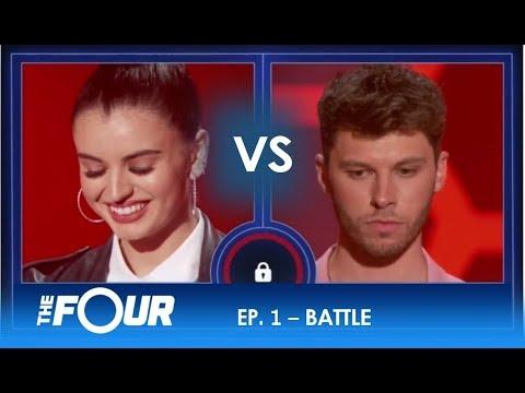 Rebecca vs James Two Rising Stars EPIC Battle For Stardom S2E1 The Four