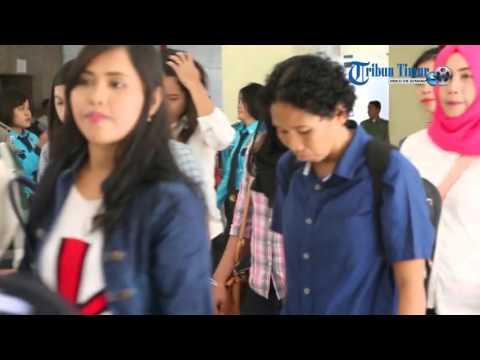 Wow, 120 Wanita Cantik Mendaftar Jadi Personel Satpol PP Makassar