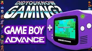 Game Boy Advance (GBA) - Did You Know Gaming? Feat. Dazz