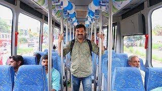 🚍🚌KSRTC ഇലക്ട്രിക്ക് ബസ്  കൊച്ചിയിൽ വന്നപ്പോൾ ഒരു യാത്ര| KSRTC Electric Bus in kochi