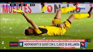 RESUMEN COMPLETO:RACING VS INDEPENDIENTE-(0-1)-[FECHA 10 SUPERLIGA 2017]- SUBCRIBETE