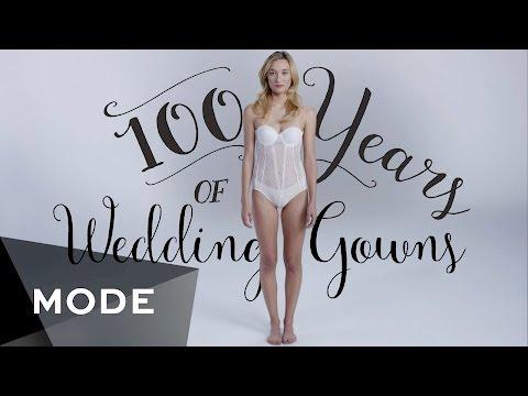 100 Years of Fashion: Wedding Dresses ★ Mode.com