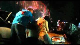 Planet Terror .... Zombies Attack Cops ( scene)