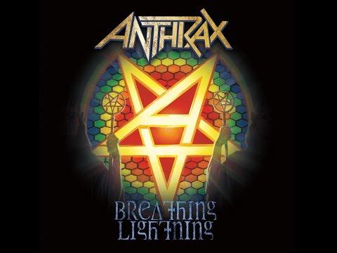 Anthrax - Breathing Lightning Lyric Video HD OFFICIAL