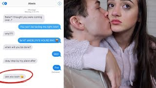 CHEATING PRANK ON MY GIRLFRIEND (She Cried)