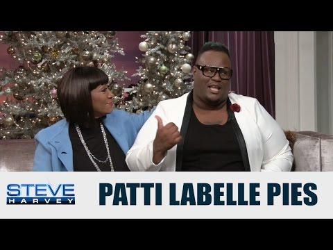 Steve Harvey tries Patti LaBelle's pie! || STEVE HARVEY
